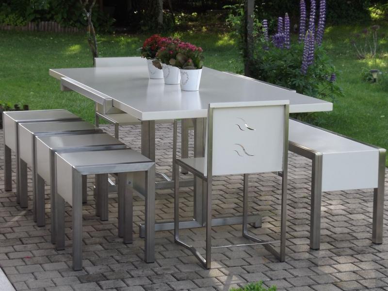 Table De Jardin Metal Choretta