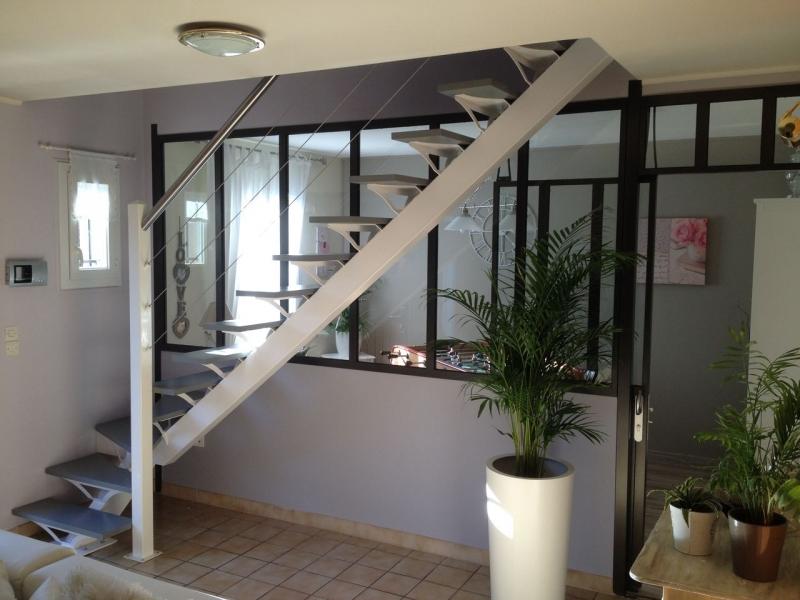 Escalier m tallique 1 4 tournant escalier m tallique - Escalier 1 4 tournant ...